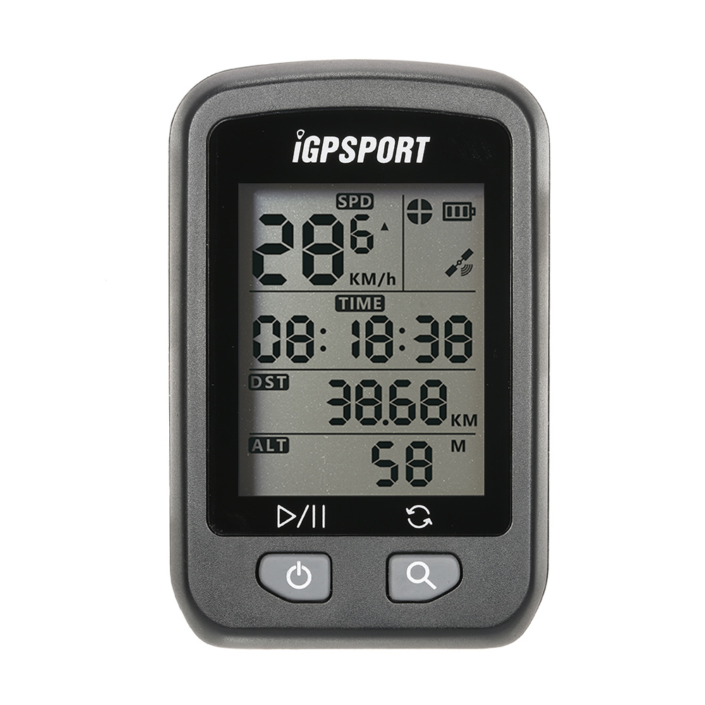 iGPSPORT iGS20E Rechargeable IPX6 Waterproof Auto Backlight Screen Bike Cycling Cycle Bicycle GPS <font><b>Computer</b></font> Odometer with Mount