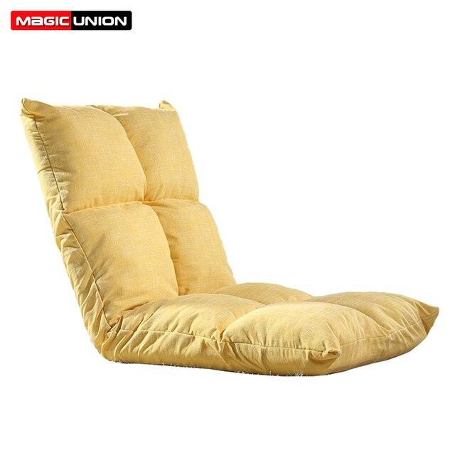 União mágica Simples Dobrável Sofá Mobília Da Sala de Cama Engrossar Dormindo Sofá Cama Sofá Preguiçoso Sofá Sofá Chão Cadeira Ajustável