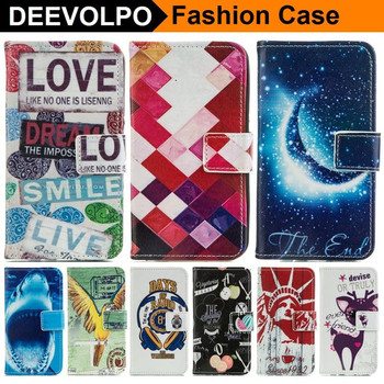 Flip Leather Case For Samsung Galaxy A5 A500 2015 Fundas i9600 S5 Mini G9250 S6 Edge G9250 Phone Cover Coque Capa DP23Z image