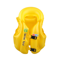 Children Kids Baby Inflatable Life Vest Boys Girls Drifting Adjustable Swiwmsuit Child Swimming Safety Vest 3
