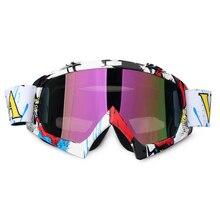 Ein stück mann/frauen motorrad motocross goggles brille radfahren brillen sport helme brille