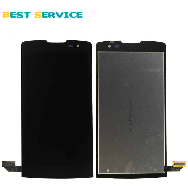 5Pcs/Lots For LG Leon H340 LCD Screen Display with Touch Screen Digitizer Assembly Black Free Shipping 10pcs lots for lg d820 d821 lcd screen display touch screen digitizer with frame assembly black free shipping