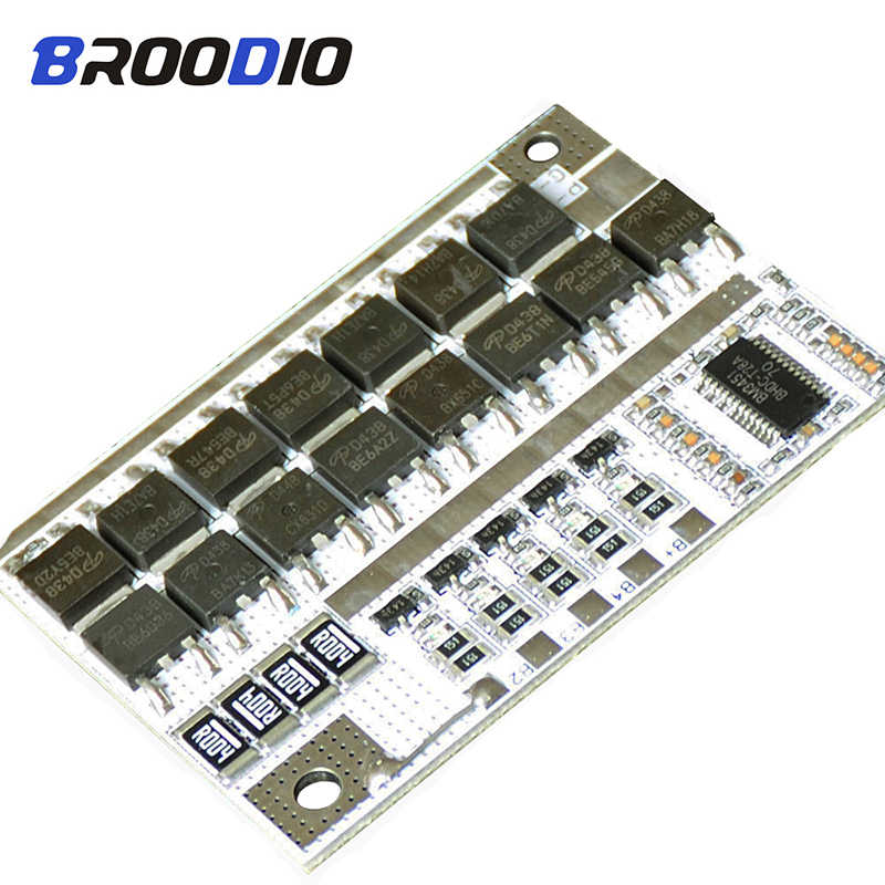 4S 14.4V 100A BMS 18650 Li-ion LiFePO4 LiFe LMO Lithium Battery Protection Board PCB BMS 4S Circuit Module