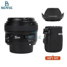 Yongnuo YN35mm F2 lente de Gran angular de Gran Apertura Fija de Enfoque Automático lente para nikon d7100 d3200 d3300 d3100 d5100 d90 dslr cámaras
