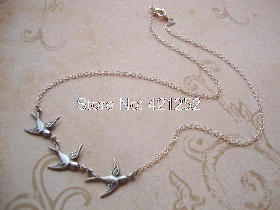 Ожерелье Beatrice Prior, окисленное серебряное ожерелье с фильмом «Дивергент», 20 шт.