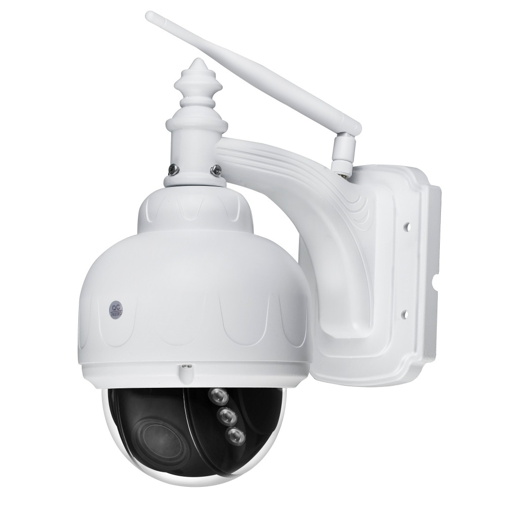 HD Dome PTZ WiFi IP Camera 5x Optiocal ZOOM Wireless Video Surveillance Security Camera Audio Recording