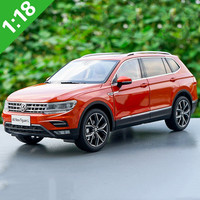 Hot sale 1:18 TIGUAN L 2017 alloy car model,advanced simulation collection metal car model ornaments,free shipping