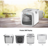 Mini Portable Air Conditioner Humidifier Purifier Personal Arctic Cooler Desktop Air Cooling Fan For Home Office Room