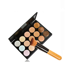 15 Colors Professional Contour Palette Women Contouring Makeup Cosmetic Facial Face Care Cream Concealer Palette Cosmetic Tool