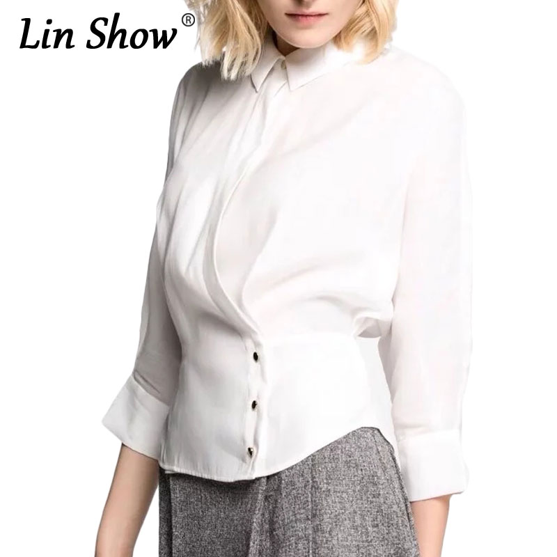 Compare Prices on Womens White Blouse with Gold Collar- Online ...