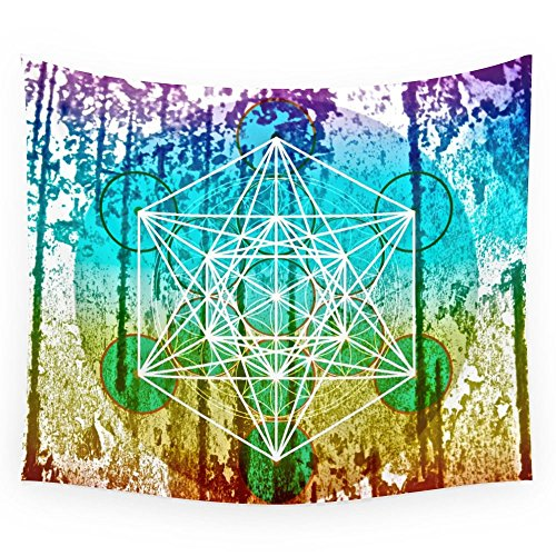 La flor de la vida y el cubo de Metatrón