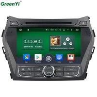Octa Core Android 6.0 Auto DVD GPS Speler 1024*600 Voor HYUNDAI IX45 2013 SANTA FE Santafe Navigatie Radio Head Unit 4G WIFI