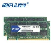DDR2 Оригинальный 4 ГБ (2×2 ГБ) 667 мГц PC2-5300S 800 мГц PC2-6400S для Памяти Ноутбука Ноутбук RAM совместимость со всеми плате