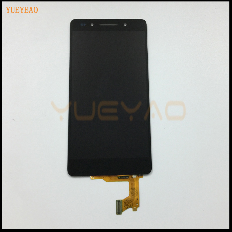 Подробнее о 100% Original For Huawei Honor 7 Full LCD Display Monitor Panel + Black Touch Screen Digitizer Glass Sensor Lens Assembly lcd display touch screen digitizer assembly for huawei honor 7 plk al10 tl01h cl00 panel front outer glass lens black white gold
