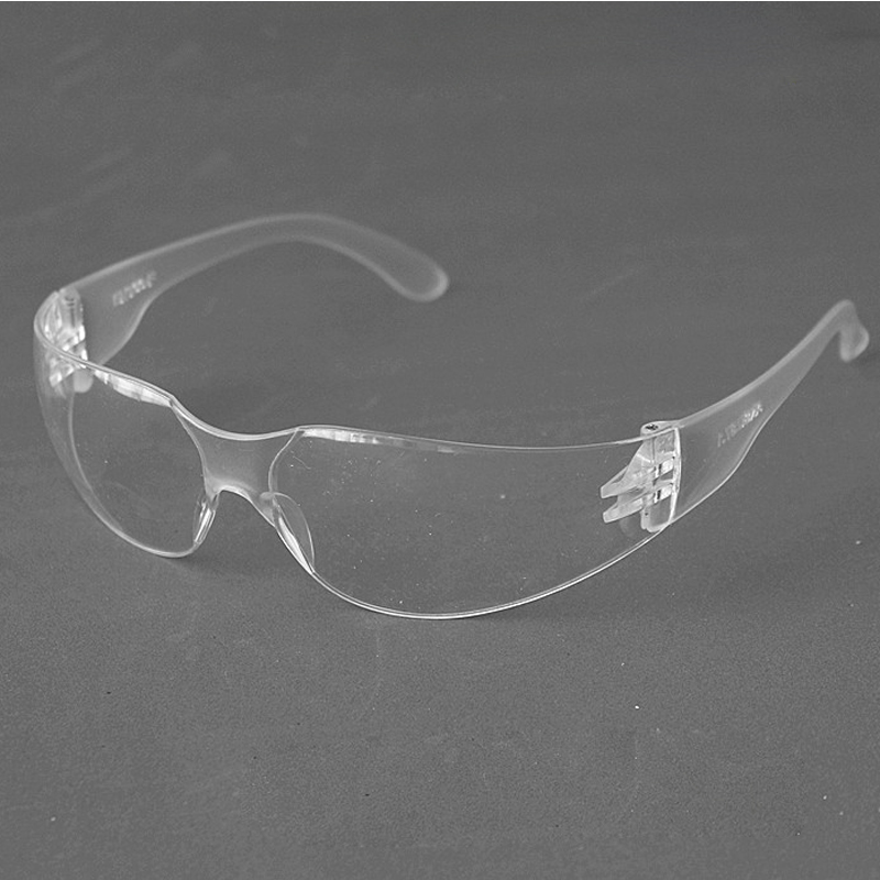 Anti Chemical Splash Goggle Safety Goggles Glasses Economy Clear Lens Eye Protection Labor Sand-proof Striking Work Glasses