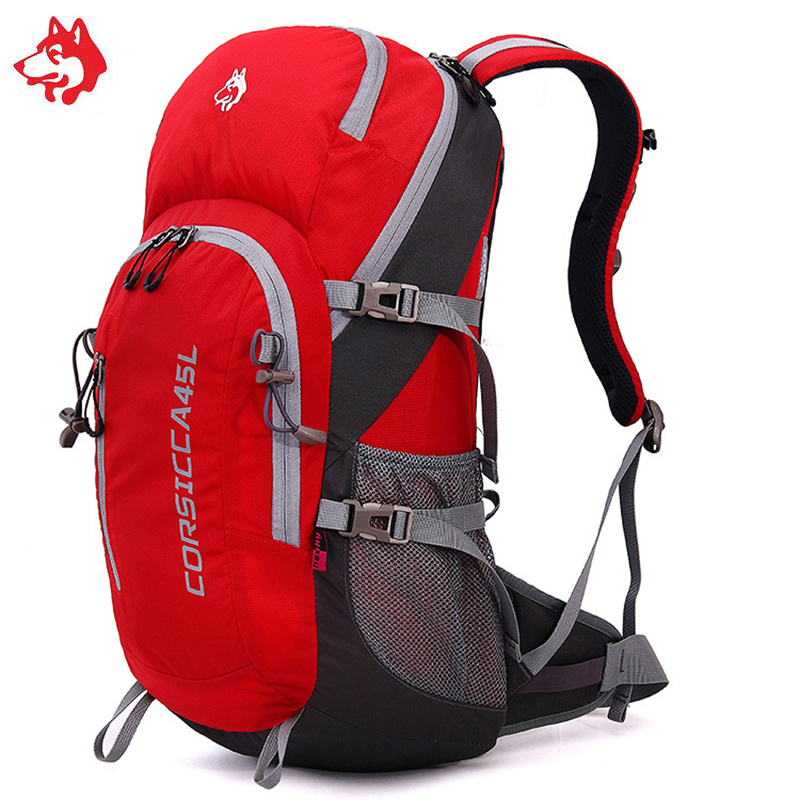 Famous Brand Sporttas 45L Outdoor Walking And Hiking Backpacks Bag For Bicycle Travel Climbing Camping Backpack Bags Rucksack brand 30l unisex rucksack outdoor waterproof hiking walking backpacks bag for sports travel tourist camping backpack bags
