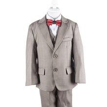 Nimble Children Blazer For Boys 2-7 years 6Month 12Month 18Month Khaki Toddler Boys Formal Suit Party Suit Boy