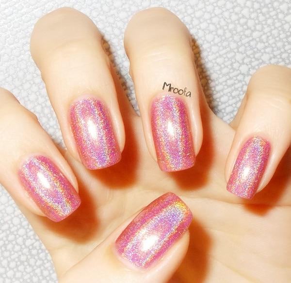 1pc holographic holo glitter nail