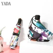hot deal buy yada summer mini pocket women umbrellas parasol folding male umbrella rain womens anti uv high quality windproof umbrellas ys194