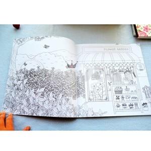 Image 4 - Koreaanse Droom Winkel volwassen kleurboek Voor Stress Schilderij Tekening Boek cahier coloriage adulte libro para colorear livro