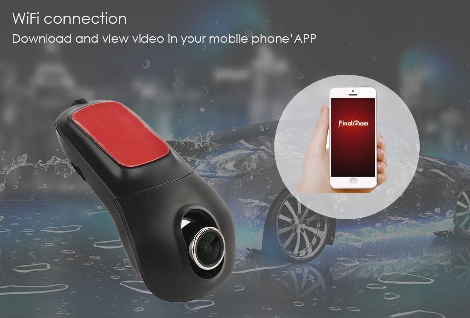 H2 Dash Cam Novatek 96655 Sony IMX322 WiFi 1080P night vision Car DVR Registrator Video Recorder camera DVRS Dashcam