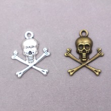 20pcs wholesale zinc alloy charms Skull Charms for DIY Supplies Jewelry Making darling london повседневные шорты