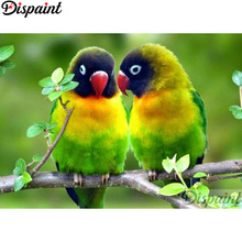 Dispaint Full Square/Round Drill 5D DIY Diamond Painting Animal bird scenery 3D Embroidery Cross Stitch Home Decor Gift A12739 dispaint full square round drill 5d diy diamond painting teacup bird scenery 3d embroidery cross stitch 5d home decor a18408