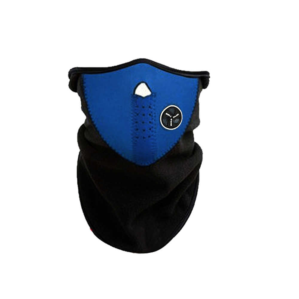 2020 Inverno Freddo Meteo Unisex Viso Maschera Del Motociclo Dello Snowboard Dello Scaldino del Collo In Neoprene Fleece blackpink maschera di sally Viso bocca maschera