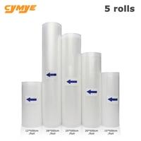 Cymye Food Vacuum Bag Storage Bags For Kitchen Vacuum Sealer 12 15 20 25 28cm 500cm