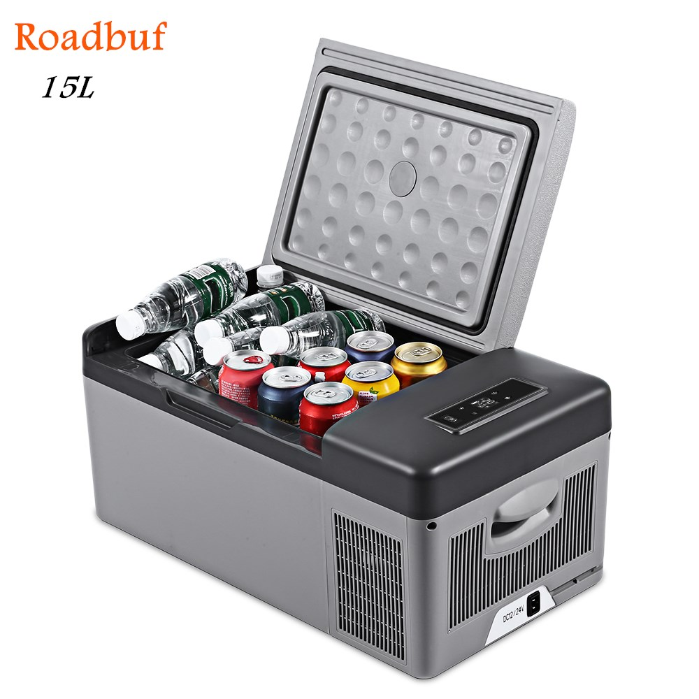 20L 15L AC / DC Portable Car Refrigerator 40W Quick Refrigeration Geladeira Car Fridge For Home Picnic Camping Party(China)