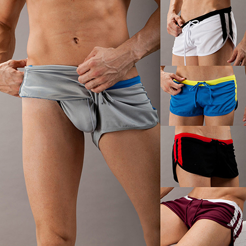 Men's Fashion Wear Ming Trunks  Wear Sexy Short Beach Pants