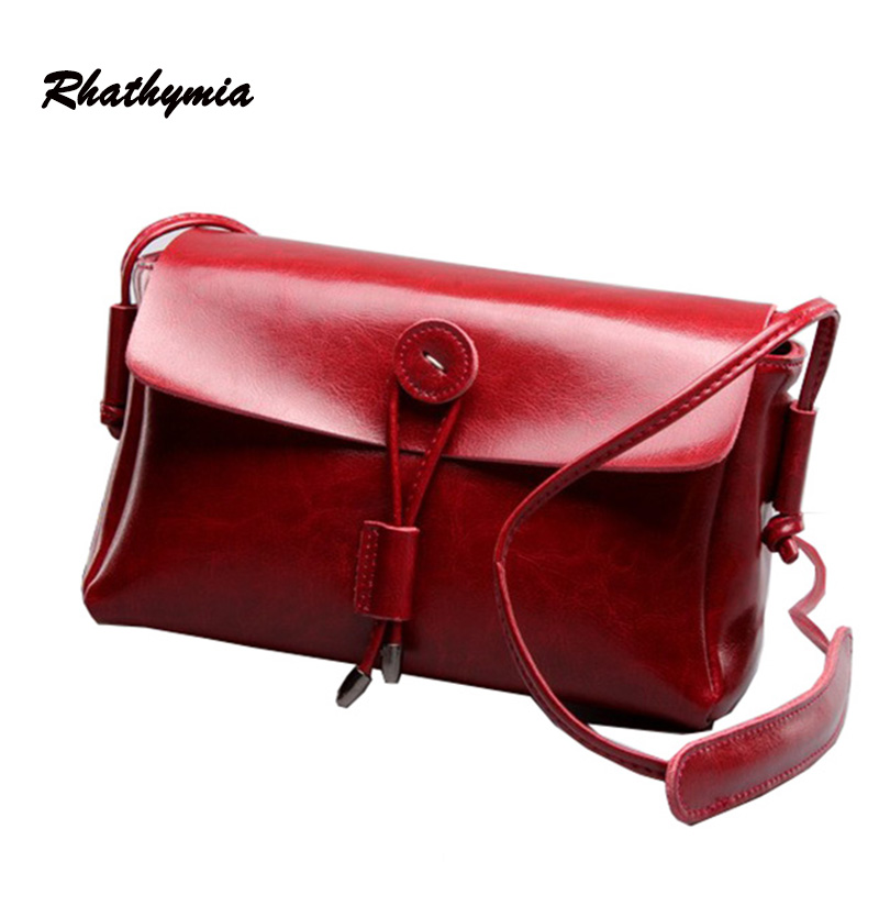 hot sale 2016 women messgeger 100% genuine leather flap shoulder bags female bag high quality real skin vintage style handbags