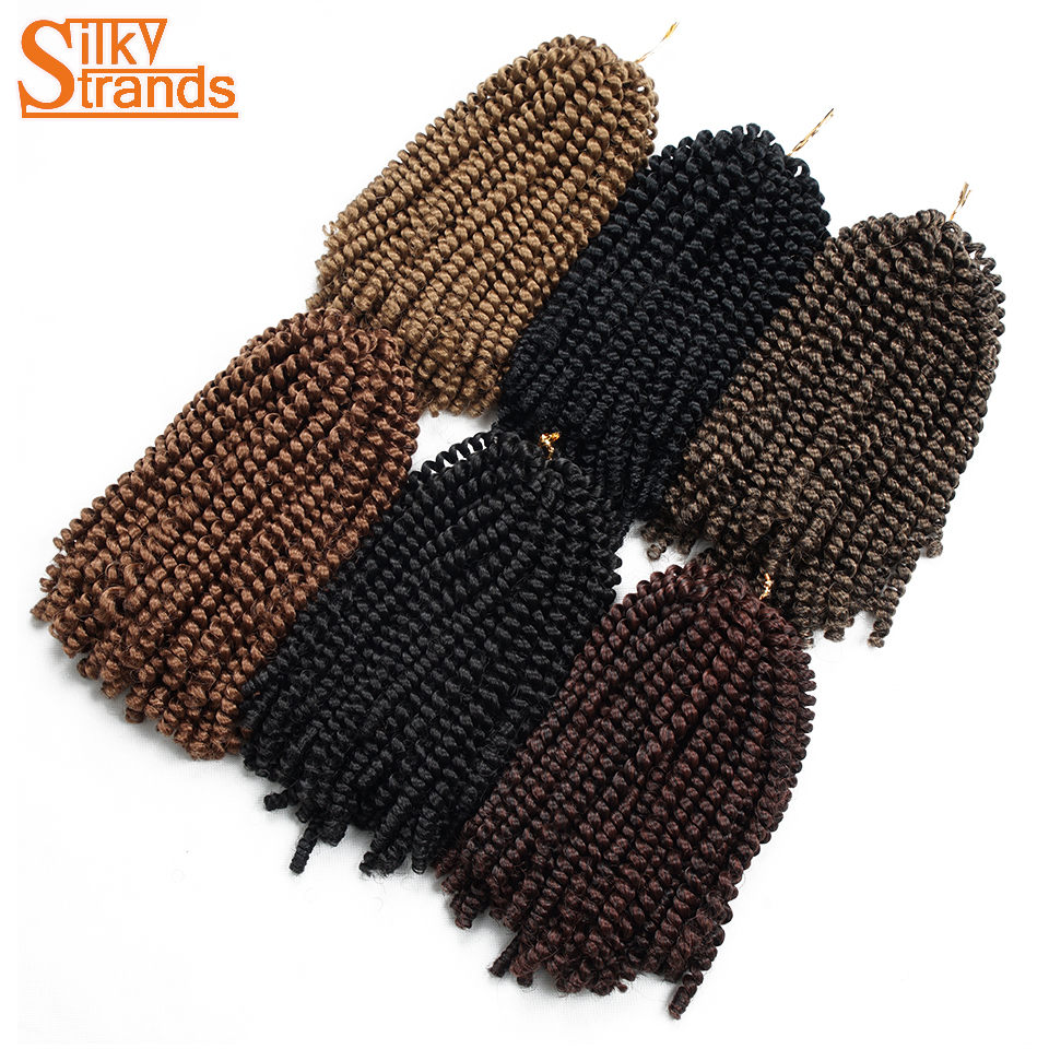 Silky Strands Ombre Hair Extension Crochet Spring Twist