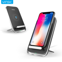 Vinsic Intellective Three Coil Wireless Charger For IPhone 6 6s Plus Samsung Galaxy S6 S4 S5