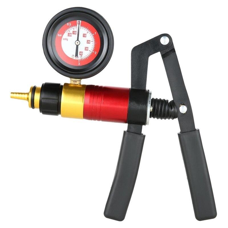 21 Pcs Handheld Vakuum Pumpe Set Tester Für Automotive Mit Adapter Bremsentlüftungs Test Kit
