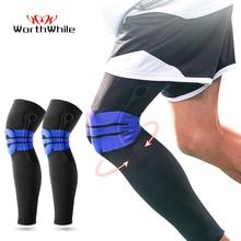 وسادة الركبة كرة السلة المبطنة من السيليكون المرن المجدي دعم الرضفة دعامة الرضفة لتروس اللياقة البدنية حامي الرياضة للكرة الطائرة