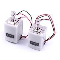 2pcs DC12V 1.5A Mini Electric Bolt Lock Small Cabinet Lock Solenoid Lock 40*30*28mm