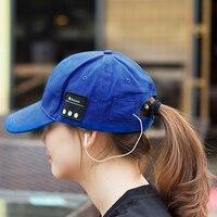 2017 New Wireless Bluetooth Earphone Hat Voice Calls Hands Free Baseball Cap Headphone Bluetooth Music Hat