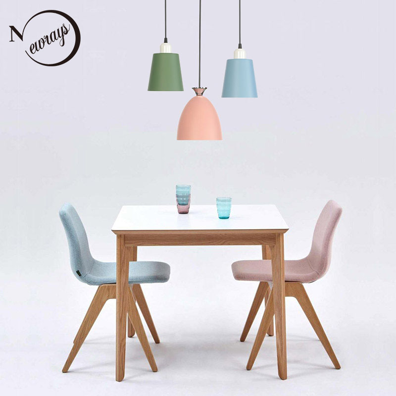 American personality simple hanging lamps E27 led metal pendant lamps for kitchen bedroom bedside walkway porch restaurantAmerican personality simple hanging lamps E27 led metal pendant lamps for kitchen bedroom bedside walkway porch restaurant