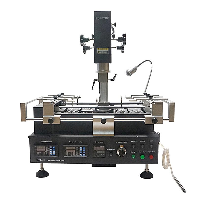 HONTON R392 Infrared hot air BGA rework station soldering machine 3 zones heating цены онлайн