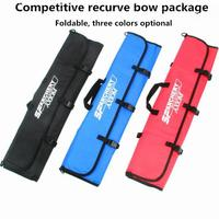 Mounchain Portable Foldable Recurve Bow Case Arrow Quiver Archery Bow Bag Carrying Shooting Hunting Recurve Bow Bag