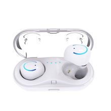 Smart Bluetooth earphone Binaural Invisible super bass stereo noise reduction waterproof HD call touch control fast charging box smart bluetooth earphones binaural noise reduction stereo sport music earplugs super bass waterproof hd call fast charging box