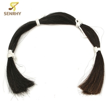 "Natural Black Violin Bow Hair Horse Tail Hair Length 80-85cm/31.4""-33.4"" 170g For Violin Replacement Violin Parts Accesories"