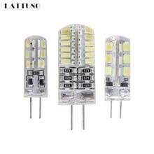 LATTUSO Lampada LED G4 Lamp 1W 3W DC 12V G4 LED bulb SMD3014 2835 24 48LEDs Replace 10w 30w Halogen Light 360 Beam Angle