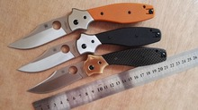 Latest High quality Hunting knife C39 56HRC 440 folding knife outdoor Pocket knife survival gift Tactical knife EDC tools