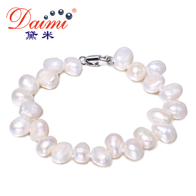 water freshwater cultured pearl irregular com amazon dp shaped nucleated white brcbeads pearls fresh shape