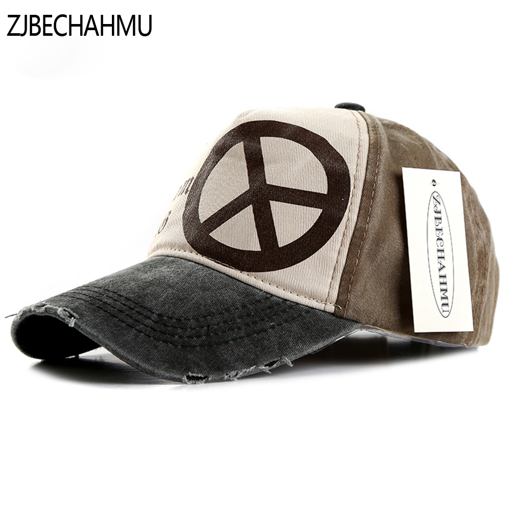 ZJBECHAHMU Hats Casual Solid Letter Animal Adjustable Baseball Caps For Men Women Spring Summer New Cotton Hip Hop Snapback Hat 2016 new unisex solid knit beanie hat winter sports hip hop caps for men and women bonnet gorros 20 colors for choose