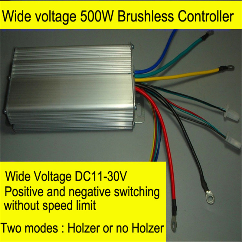DC12V-24V Wide Voltage Brushless Motor Controller 500W High Power DC Brushless Motor Driver 30A 40A brushless motor driver 24v 200w bldc motor driver controller for 180w dc dc fan or motor 7 15a