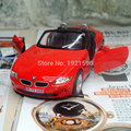 Brand New KINGSMART 1/32 Scale Germany Z4 Supersport Convertible Diecast Metal Pull Back Car Model Toy For Gift/Kids/Collection