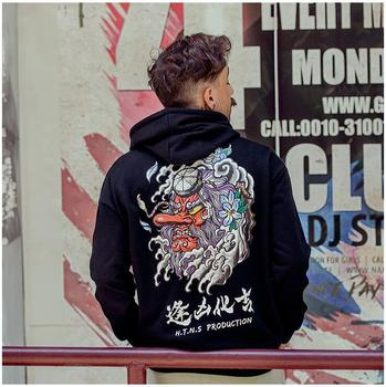 New Spring Autumn Hip Hop Fashion Printed Hoodies Male Large Size High Quality Warm Coat Men Brand Hoodies Sweatshirts